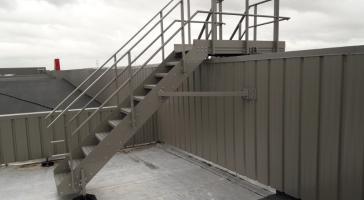 Escalier technique de 25 à 40°