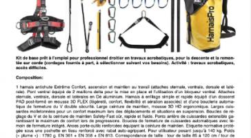 KIT ACRO 5A - Activité : travaux acrobatiques, accès difficiles